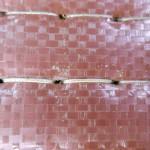 床糸を修繕した畳床