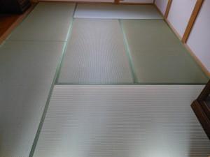 熊本畳表を使った畳