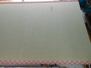 熊本畳表使用の新調畳 ピンクの畳縁
