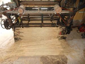 コモ編みの機械