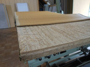 藁床の表替え前