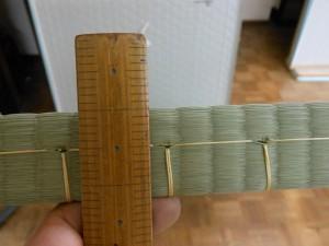 厚み1寸3分弱の畳
