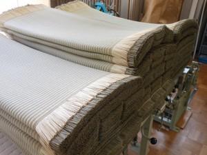 熊本畳表、麻綿W65畳
