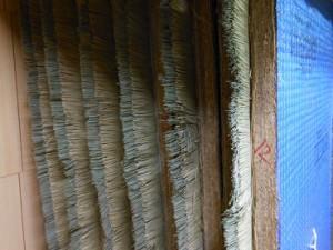 畳表を縫着したワラ床