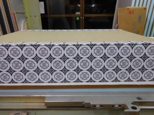 白中紋2方縁二畳台