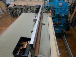 新調畳の製作過程