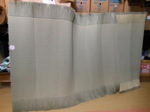 中村さんの1番草の畳表