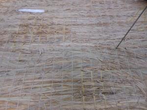 切れた床糸の修繕