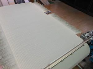 畳表の縫着