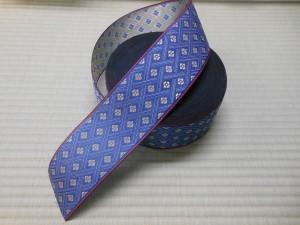 ブルーの畳縁