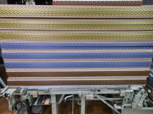 3種類の畳縁を付けた畳
