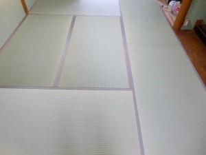 床の間6畳表替え後