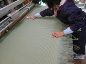 畳表の掃除