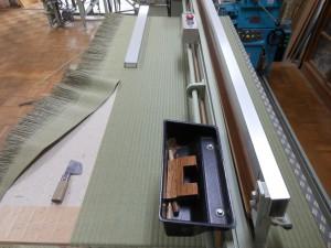 施工中の畳