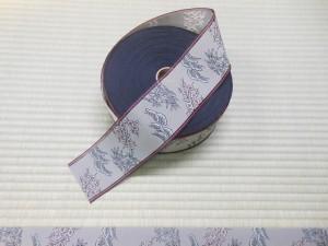 松竹梅柄の畳縁
