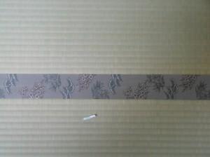 松竹梅の畳縁