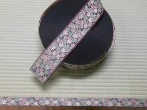 紅葉柄の畳縁