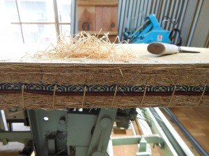 余分な畳の糸