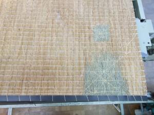 畳の凹みの調整