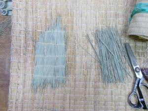 畳の凹みの修繕