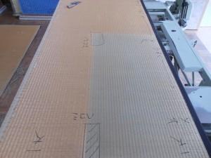 修繕前の畳