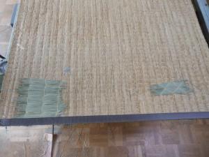 畳床の修繕後