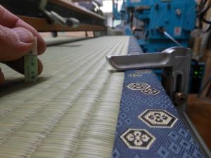 畳の厚みの仕上がり