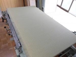 製作途中の畳
