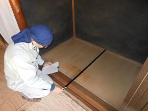 床の間の採寸