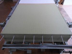 ベッドの畳の製作