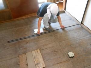 6畳の畳の採寸