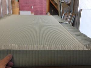 畳の製作途中