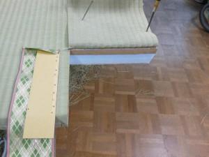 畳の切り込み
