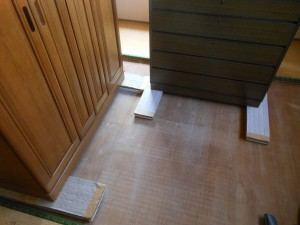 畳の引き上げ