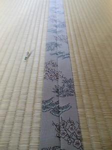 松竹梅図柄の畳縁