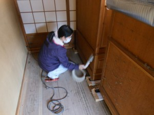 箪笥の掃除