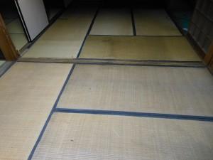 3畳と6畳の古い畳