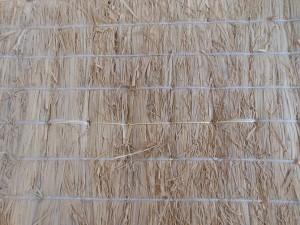 糸切れを修繕した畳