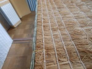 寸法を調整した畳