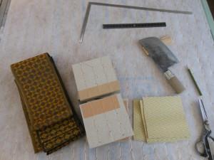 ミニ畳の材料
