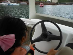 ボートの運転