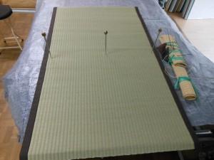 板張りの薄縁の施工