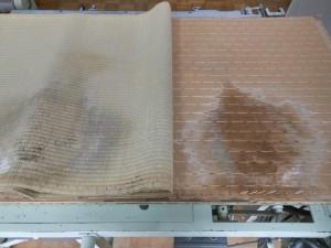 雨漏りの畳