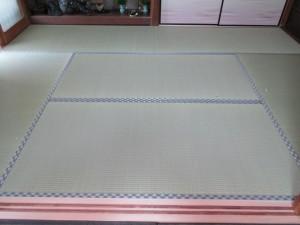 入れ替え後の畳