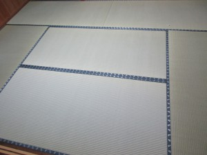 表替え後の畳