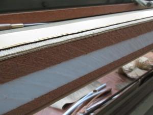 畳の裁断面