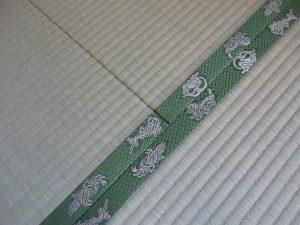 四神の畳縁 明日香村のお客様の畳