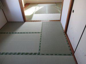 明日香村のお客様の畳、四神の畳縁
