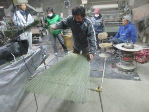 畳表の製織