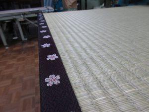 桜柄の畳縁